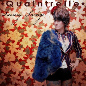 Album sleeve art for Quaintrelle, by Lenny Savage