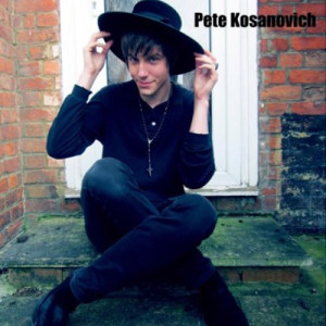 Album sleeve art for Pete Kosanovich's debut solo album