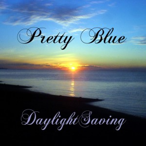 Daylight Saving Pretty Blue e.p. sleeve art