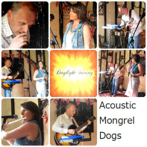 "Sleeve art for ""Acoustic Mongrel Dogs"""