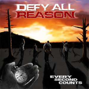 "Sleeve art for ""Every Second Counts"" debut e.p. from Defy All Reason."